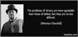Problems should be defeated