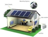 Off grid solar system- working principle
