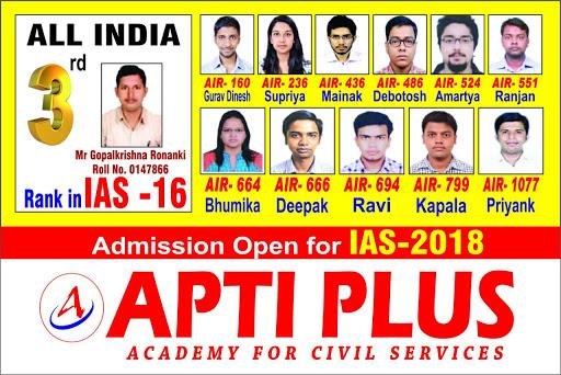 Aptiplus Academy for Civil Services UPSC Coaching in Salt Lake City Kolkata