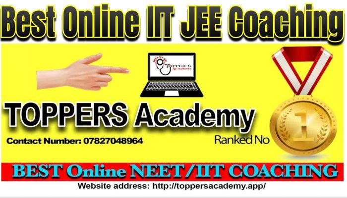 Best Online Online IIT JEE Coaching