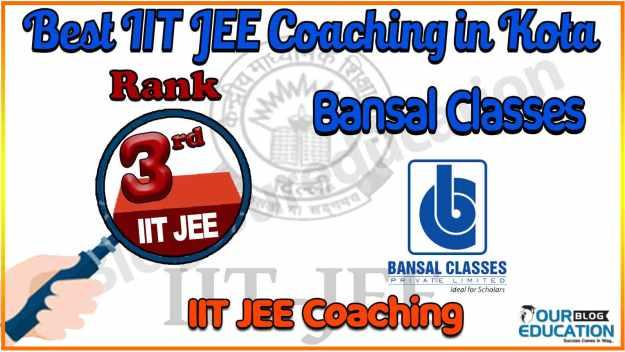 Top IIT JEE Coaching in Kota