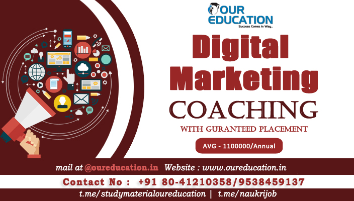 Best Digital Marketing Training Institutes Bangalore