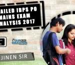 IBPS PO Mains Exam Analysis Review 26th Nov 2017
