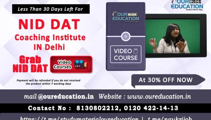 BEST NID DAT COACHING INSTITUTE IN DELHI