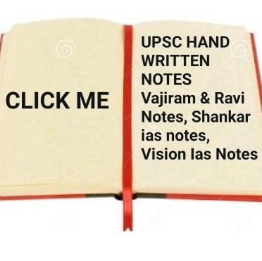 UPSC /IAS NOTE