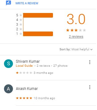BRILLIANT Coacing Patna Reviews