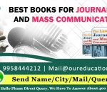 Best Books for Journalism And Mass Communication
