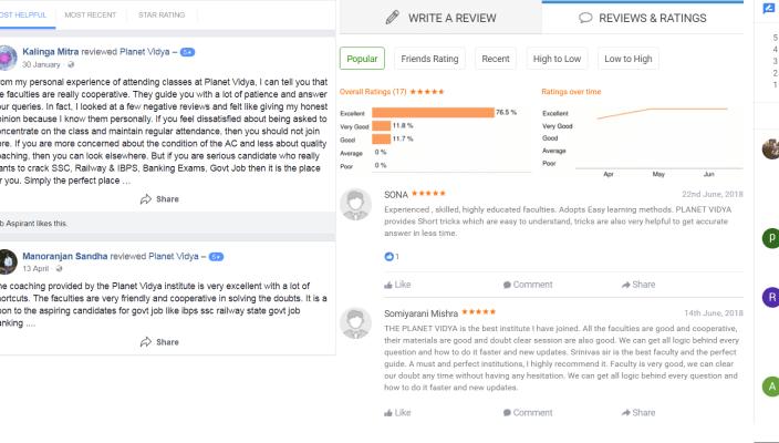 PLanet Vidya CAT Coaching Bhubaneswar Reviews