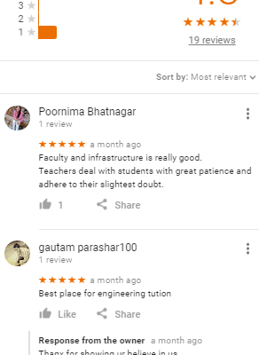 Ugenius SSC Coaching in Delhi Reviews