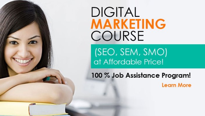 List of Top digital Marketing courses from Institutes in Delhi ncr