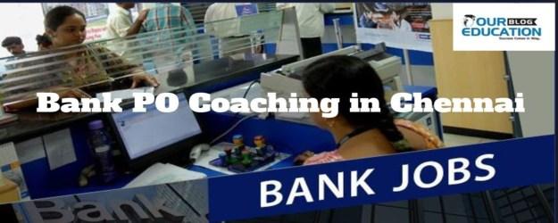 Bank PO Coaching in Chennai
