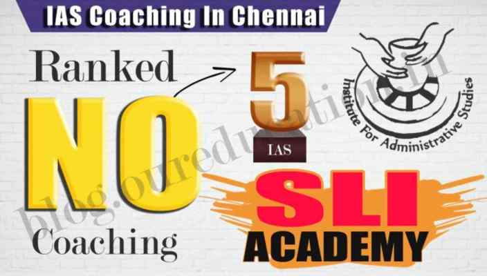 Rank 05 Best IAS Coaching institute in Chennai