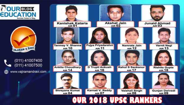 Vajiram and Ravi Best IAS Coaching Delhi result