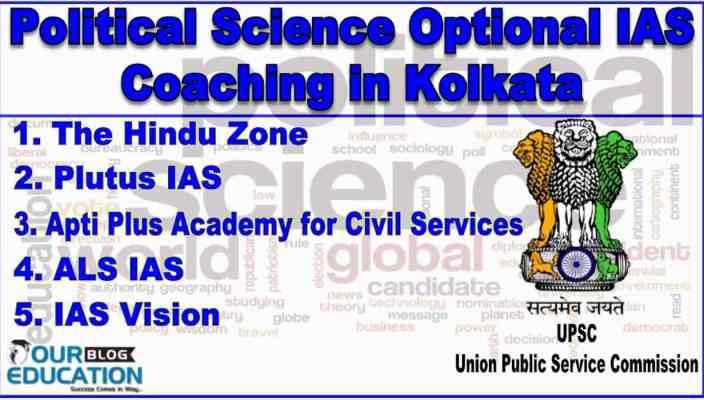 Best Political Science Optional IAS Coaching Institute in Kolkata