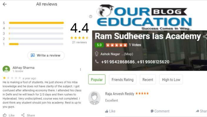 Ram Sudheers IAS Academy