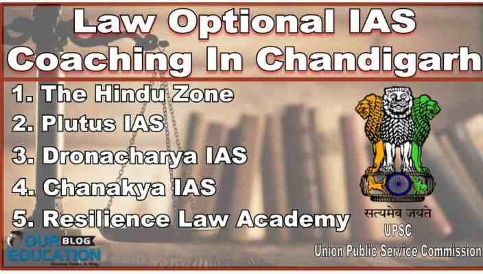 Top Law Optional IAS Coaching in Chandigarh