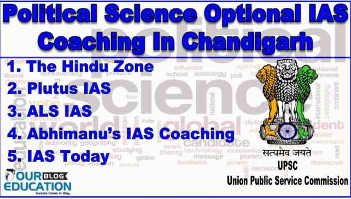 Top Political Science Optional IAS Coaching Institute in Chandigarh