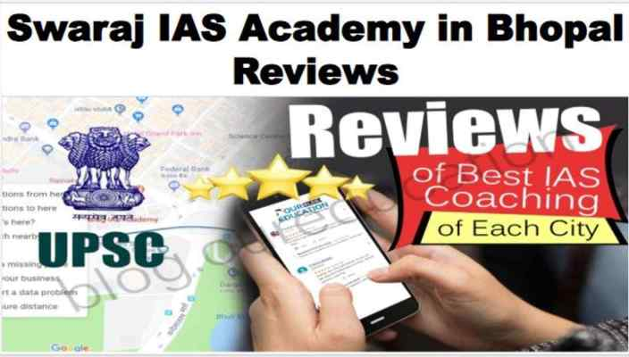Swaraj IAS Academy Bhopal Reviews
