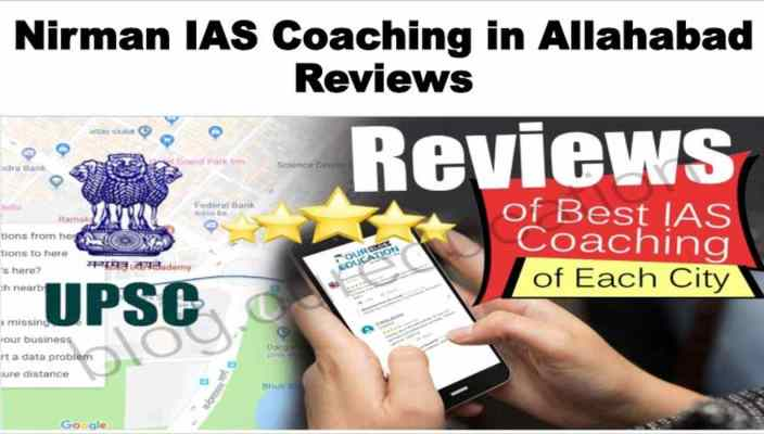 Nirman IAS Academy in Allahabad Review
