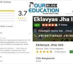 Eklavya's Jha HAS Institute Chandigarh Reviews