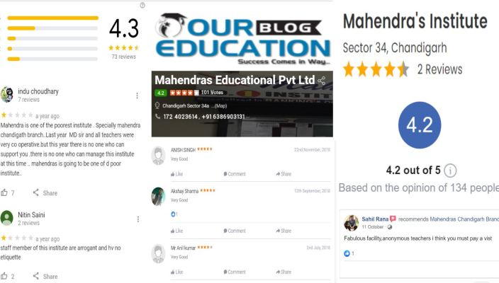 Mahendras in Chandigarh Review
