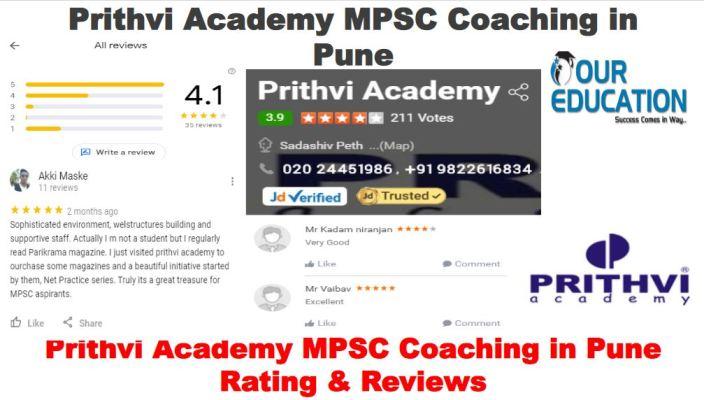 Prithvi Academy MPSC Coaching Pune
