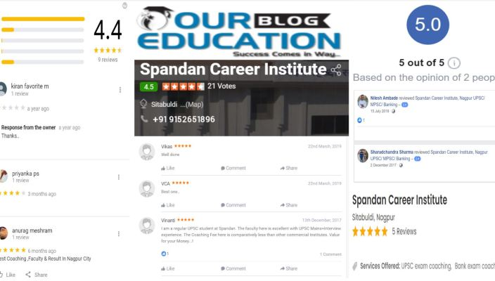 Spandan Career MPSC Institute In Nagpur Review