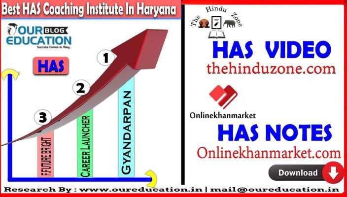 Best HAS Coaching Classes Haryana