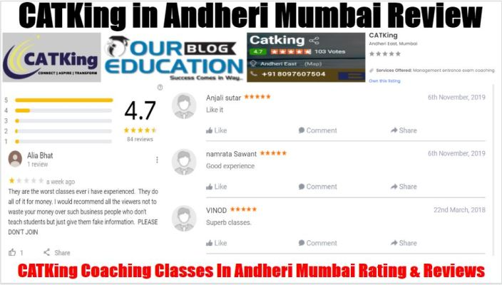 CATKing Coaching Classes In Andheri Mumbai Review
