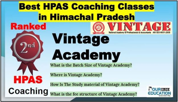 Top HPAS Coaching in Himachal Pradesh
