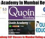 Quoin Academy CAT Institute In Mumbai Review