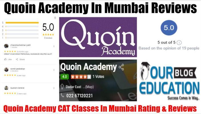 Quoin Academy CAT Institute In Mumbai Review