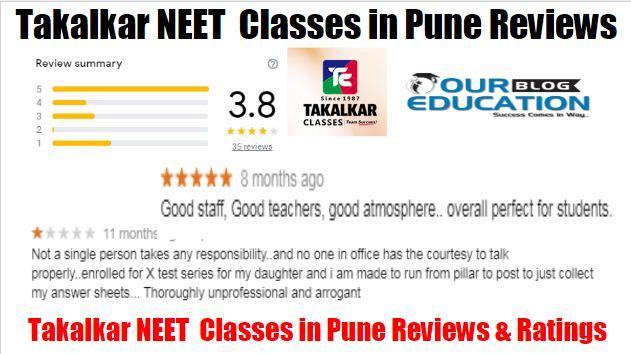 Takalkar Classes Reviews