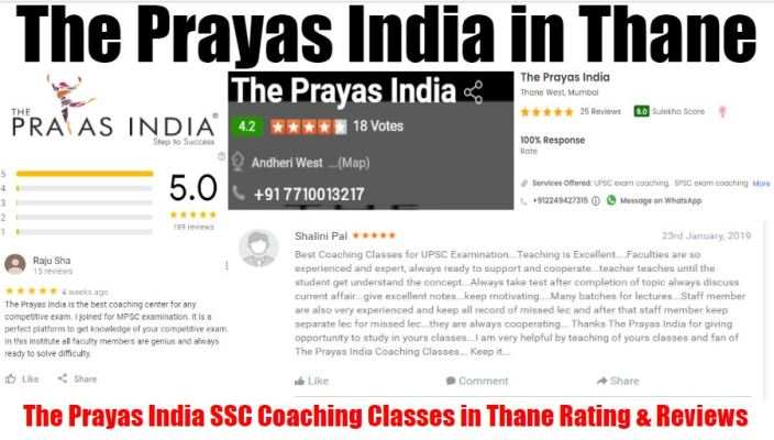 The Prayas India Bank PO Coaching Classes In Thane Review