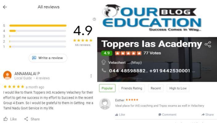 Toppers IAS Academy Chennai