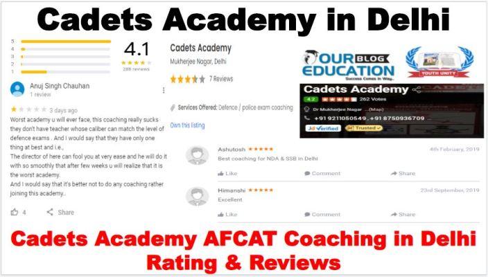 Cadets Academy AFCAT Coaching In Delhi Reviews
