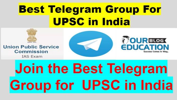 Best Telegram Group for UPSC IN India
