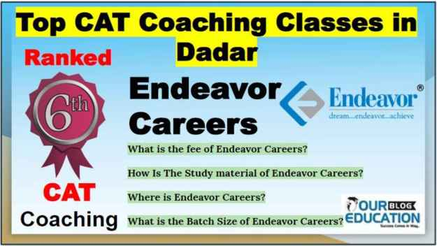 Top CAT Classes in Dadar
