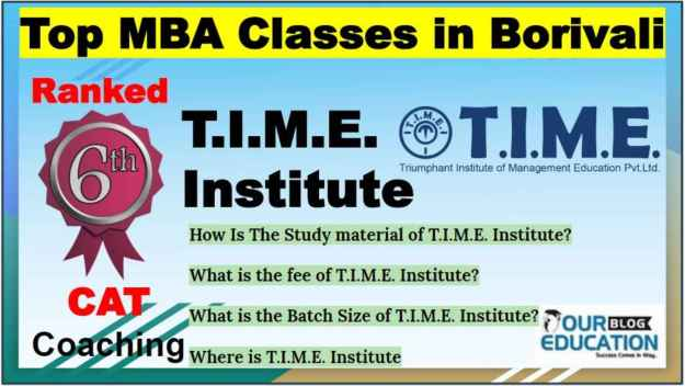 MBA Classes in Borivali