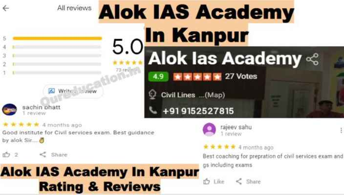 Alok IAS Academy In Kanpur Reviews