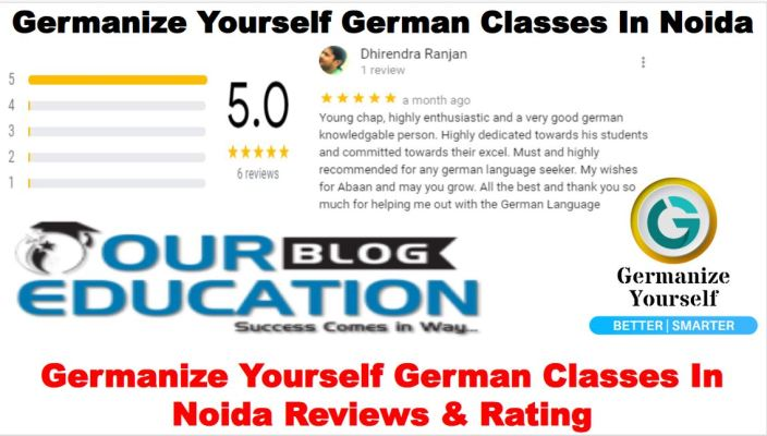Germanize Yourself German Classes In Noida Review