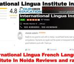 International Lingua French Language Classes In Noida Review