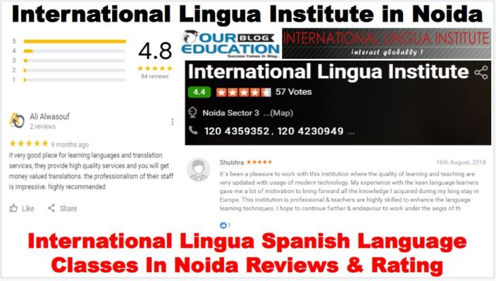International Lingua Spanish Language Classes In Noida Review
