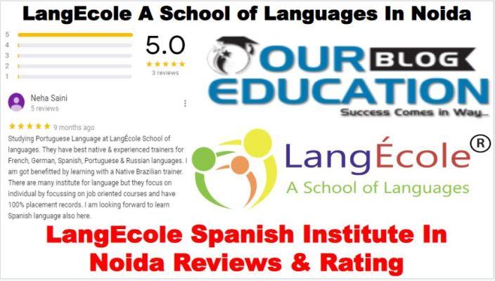 LangEcole Spanish Institute In Noida Review