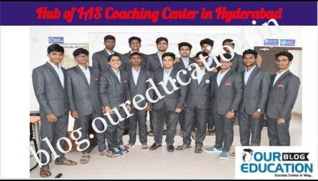 Hub of IAS Coaching in Hyderabad 1