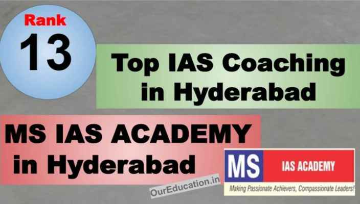 Rank 13 IAS Coaching in Hyderabad