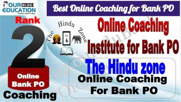 Rank 2 Best Online Coaching for Bank PO