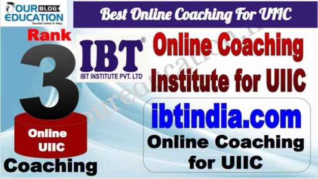Rank 3 Best Online Coaching For UIIC