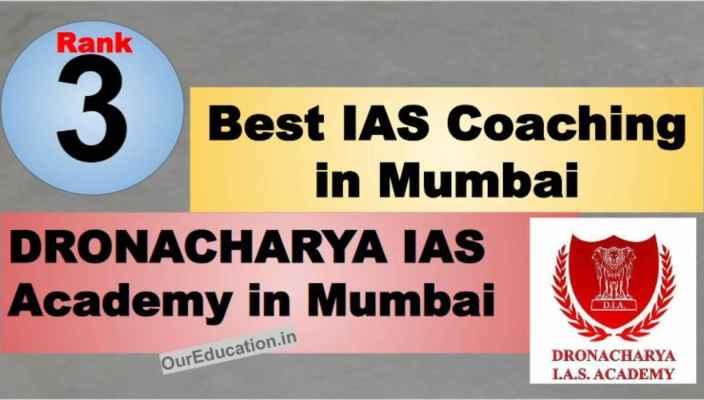 Rank 3 Best IAS Coaching in Mumbai