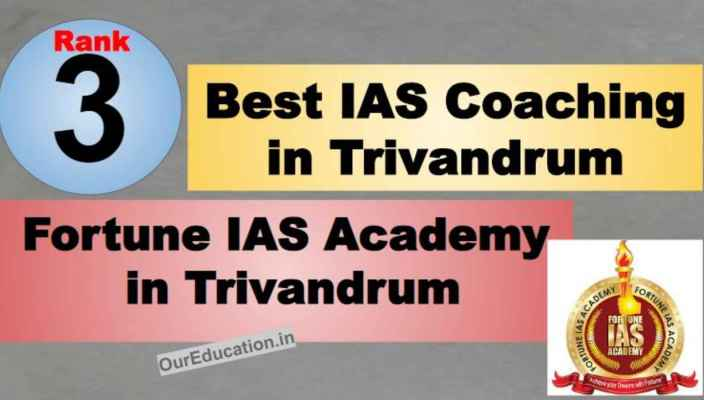 Rank 3 Top IAS Coaching in Trivandrum